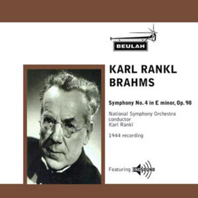 Product picture Brahms Symphony No 4 1st mvt Karl Rankl