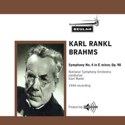 Product picture Brahms Symphony No 4 2nd mvt Karl Rankl